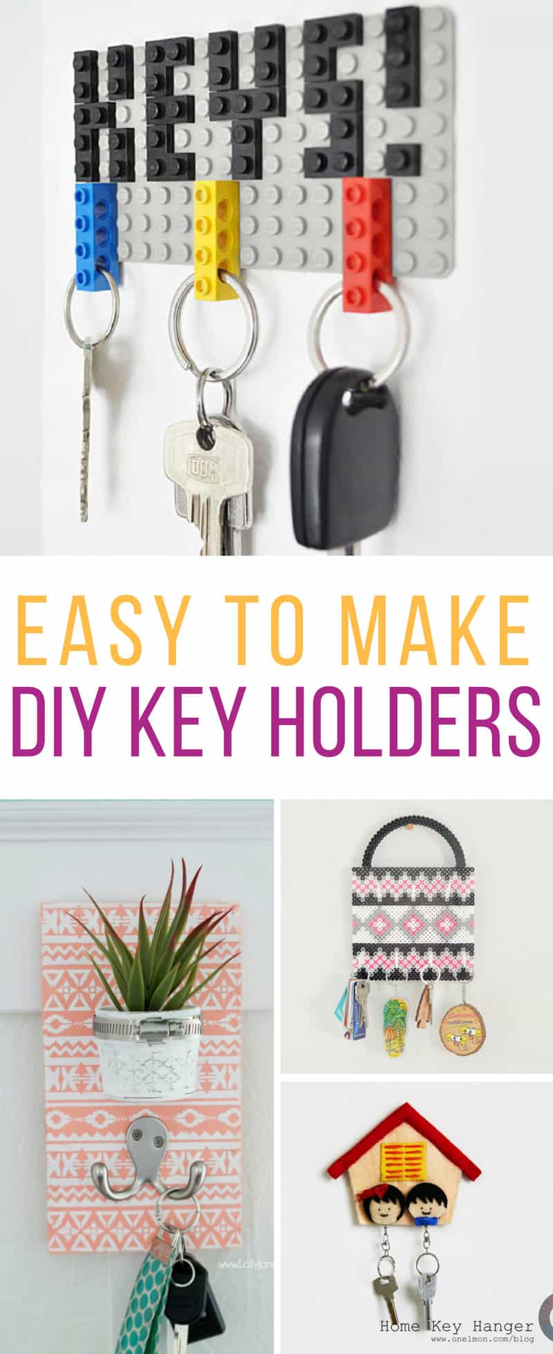 Loving these easy to make DIY key holders! Thanks for sharing!