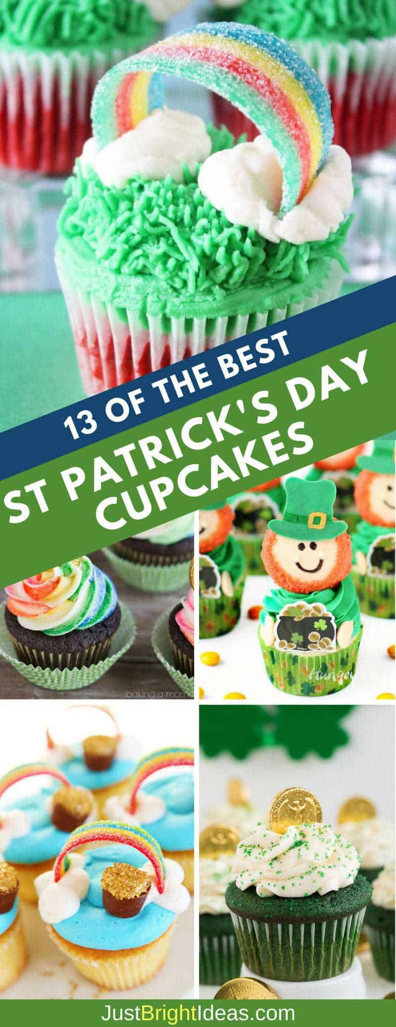 Easy to Make St Patricks Day Cupcakes Pinterest