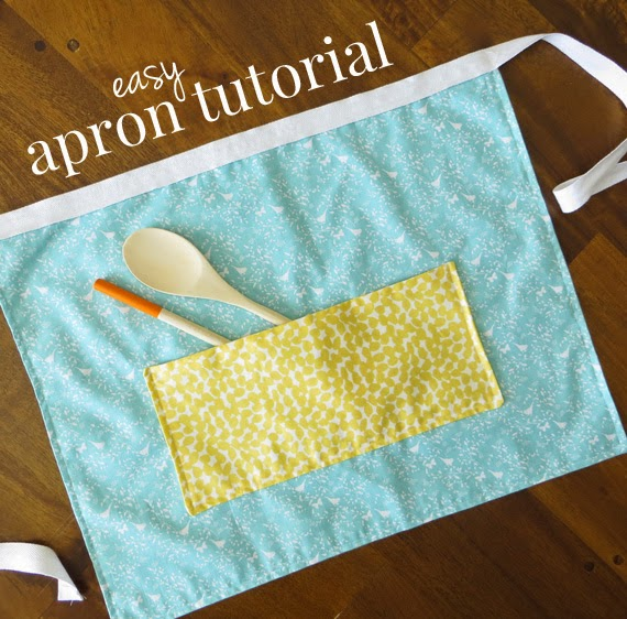 How to Make an Easy Apron with Fat Quarters: A Free Apron Pattern & Tutorial
