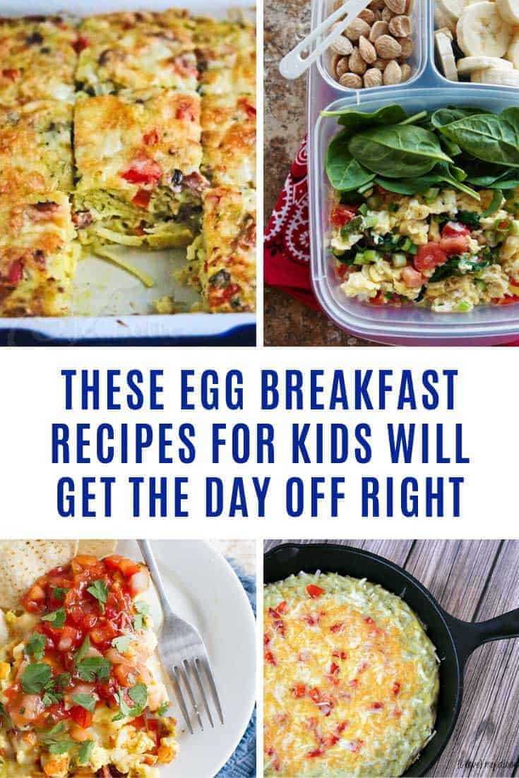 These egg breakfast recipes make great breakfast ideas for kids, and if you like batch cooking as part of your meal planning you can freeze some of them too.