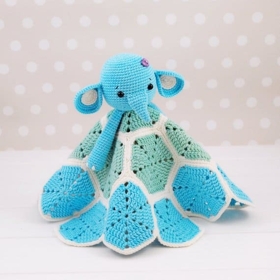 Elephant Lovey Pattern