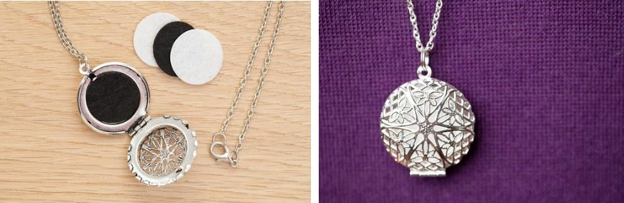 Essential Oils Diffuser Locket Necklace