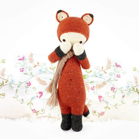 FIBI the Fox Amigurumi Pattern