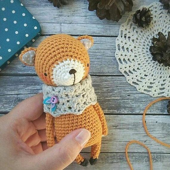 Easy Fox Crochet Pattern