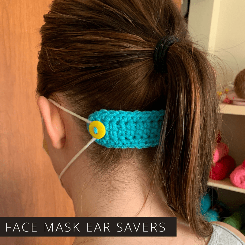 Crochet These Ear Savers to Make our Frontline More Comfortable