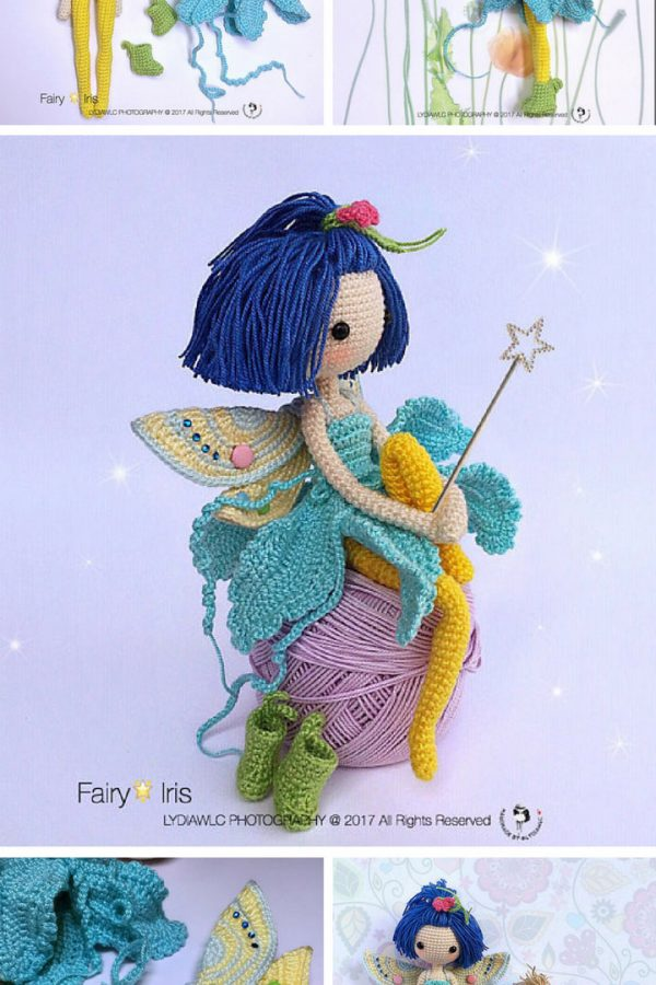 Fairy Crochet Pattern - Pinterest