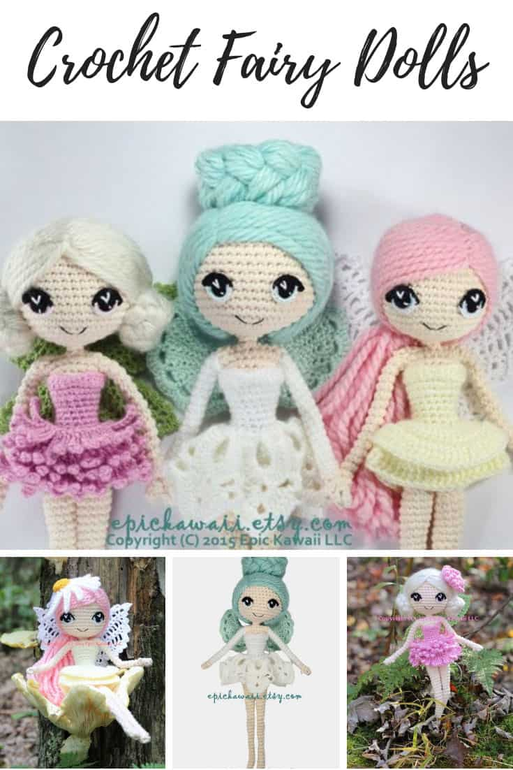 Fairy Doll Crochet Pattern 12 Inch