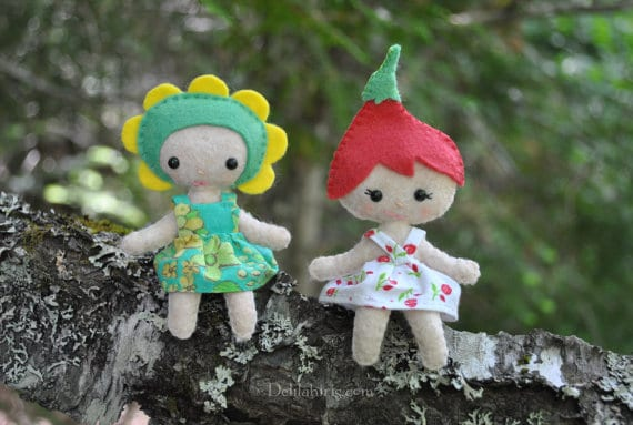 Fairy Pocket Dolls DIY