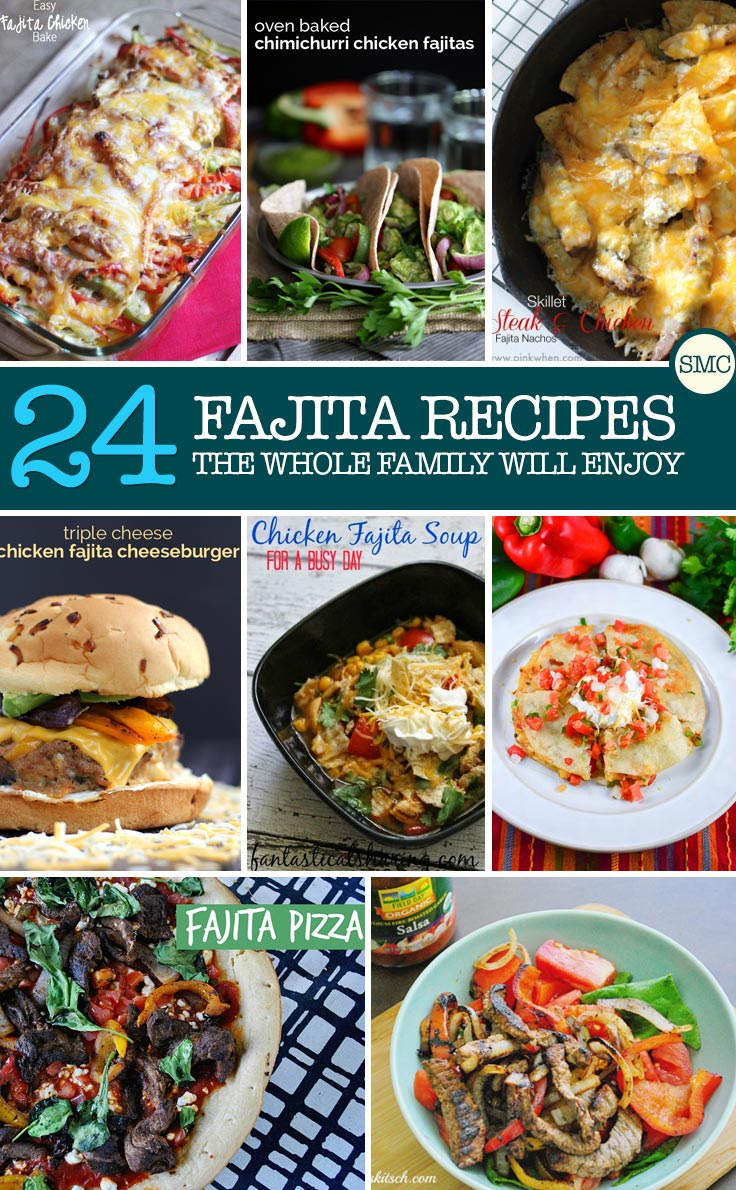 We love Mexican food so I'll be adding some of these fajita recipes to our meal planner!