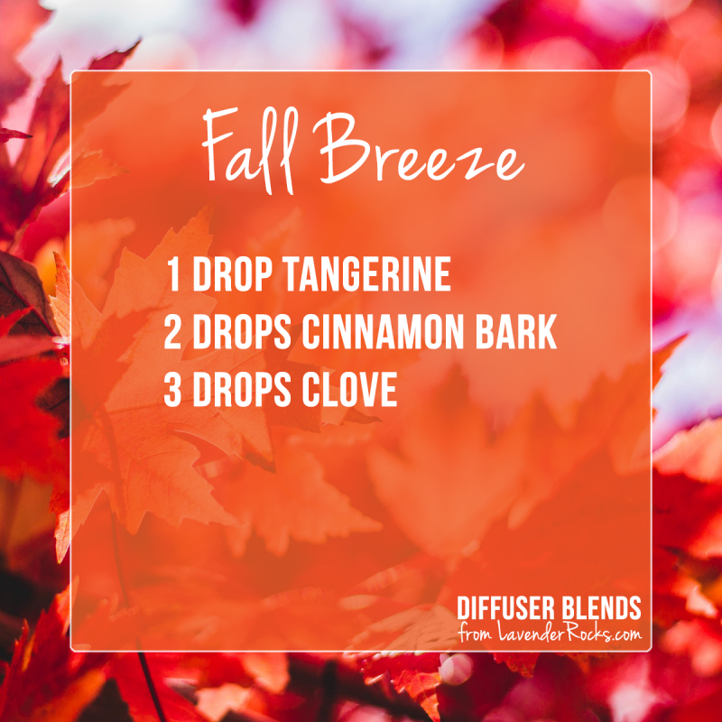 Fall Breeze Diffuser Blend - for more Fall diffuser blends visit justbrightideas.com
