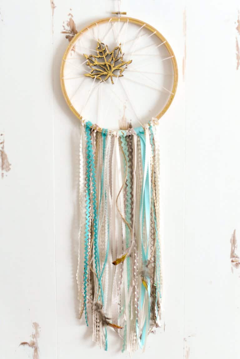 Whimsical DIY Dream Catcher