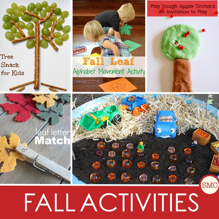 It's the perfect time to round up some wonderful Autumn and Fall crafts and activities for toddlers and preschoolers.