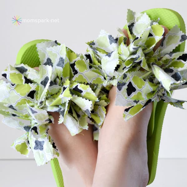 Fantastic Fabric Flip Flops Tutorial