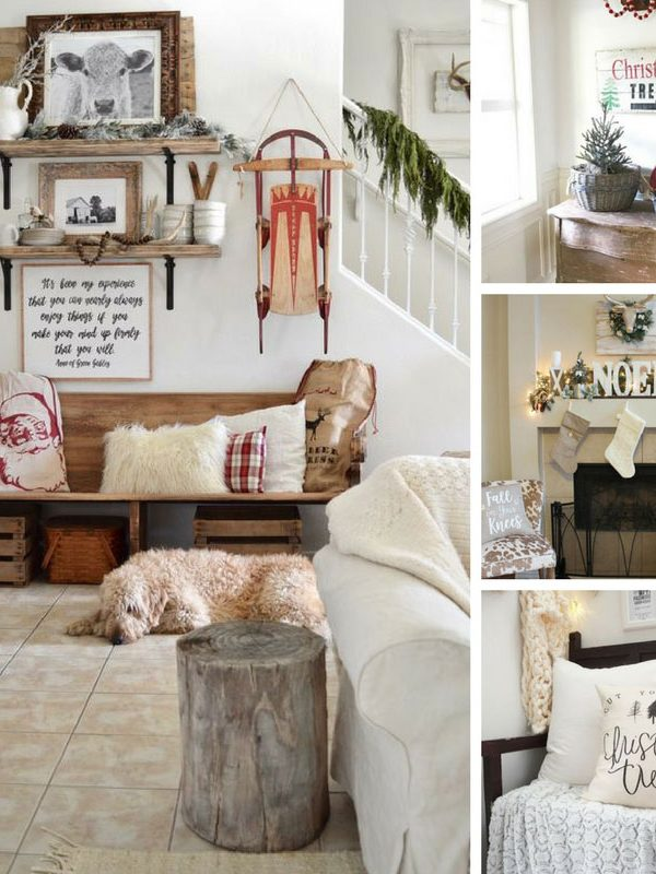 Farmhouse Decor Ideas Christmas Fixer Upper - FB Square