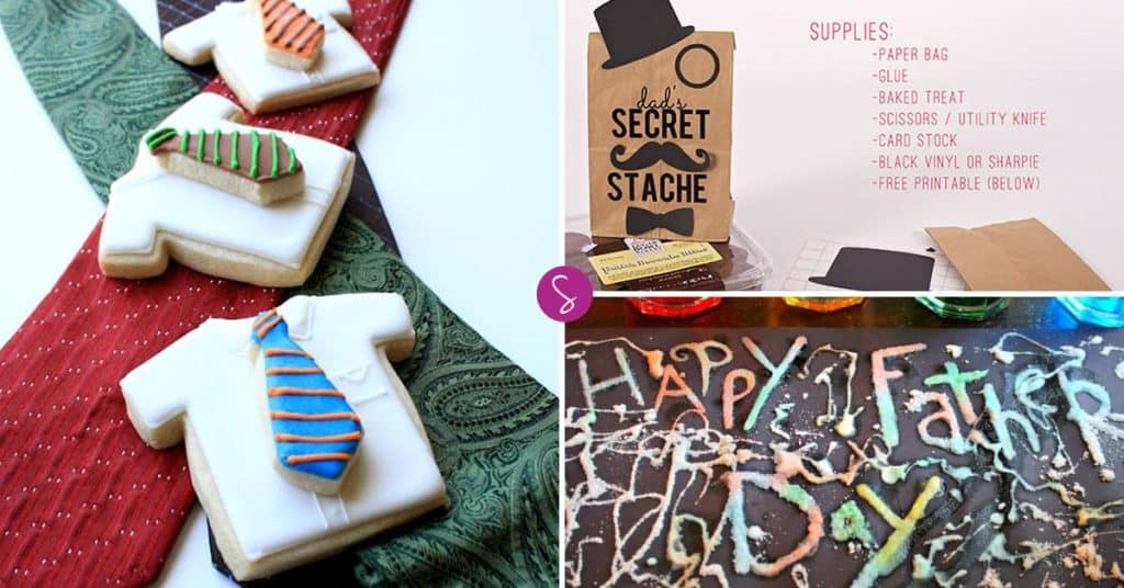 Father's Day Crafts, Activities and Recipes - Includes FREE Printables!