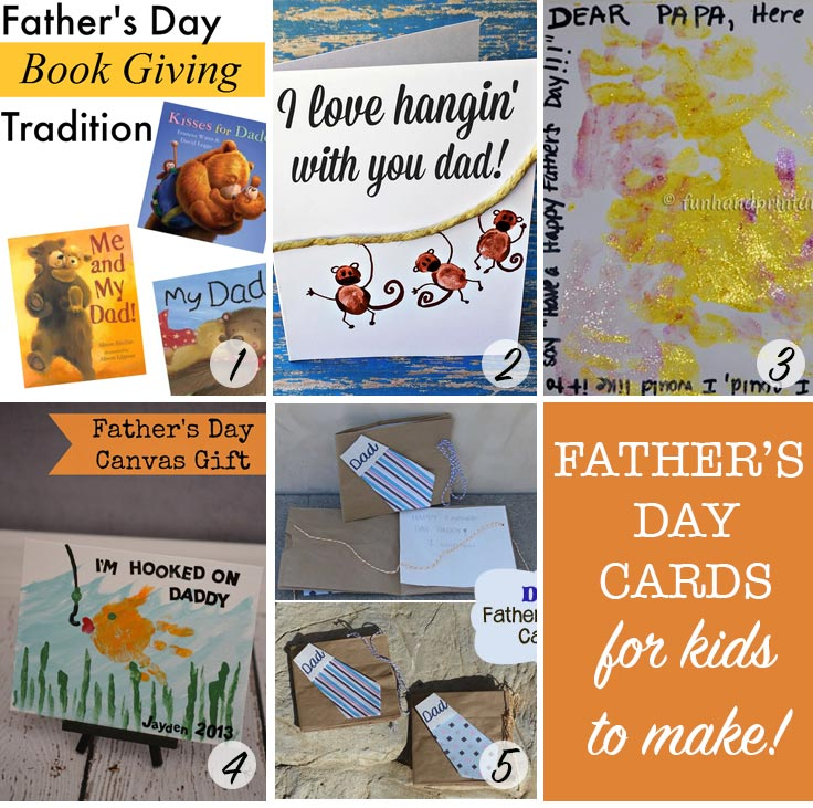Love these Father's Day cards - and that tradition sounds fab!