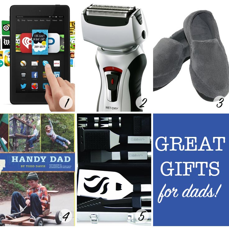 Love these gift ideas for Dad!