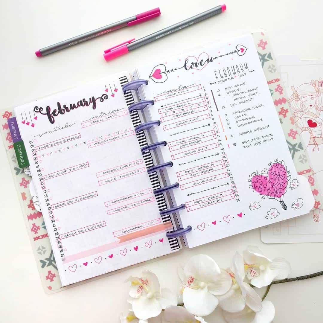 February Love Header Examples