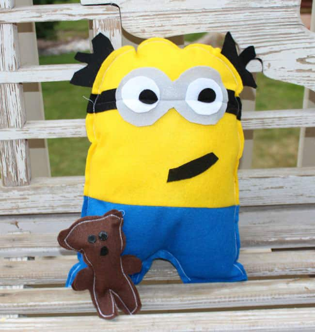 Felt Minion Stuffies