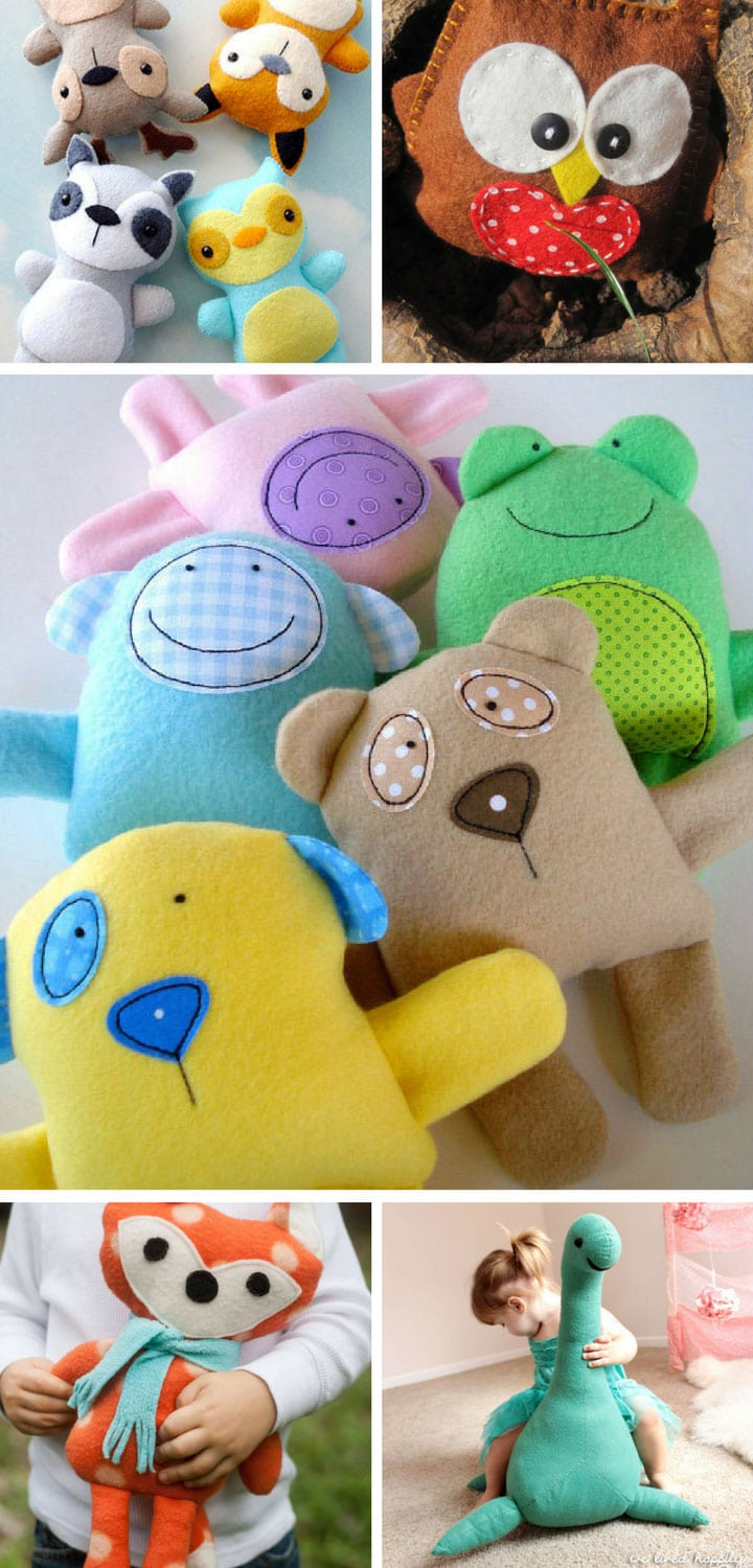 Felt Toy Patterns - Pinterest