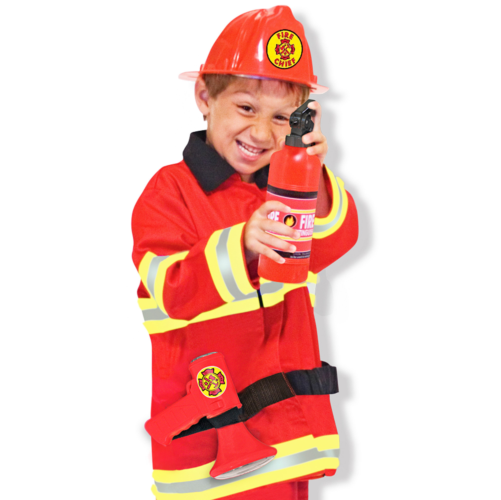 Fire Chief Dramtic Play Costume