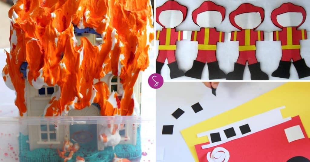 Firefighter Dramatic Play Ideas for Preschoolers