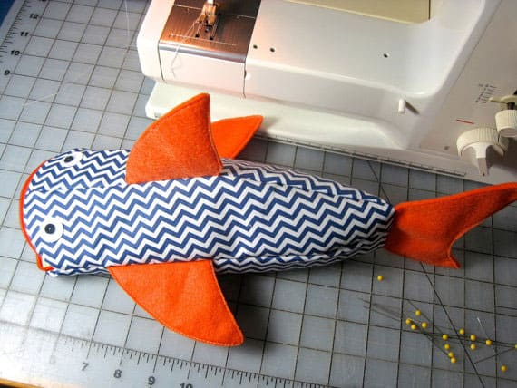 Fish Pencil Holder Pattern