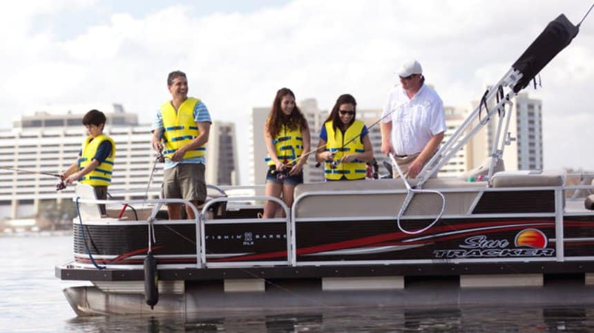 Take a guided fishing excursion at Disney World