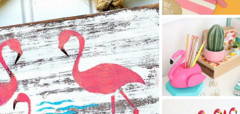 Loving these flamingo crafts - Thanks for sharing!