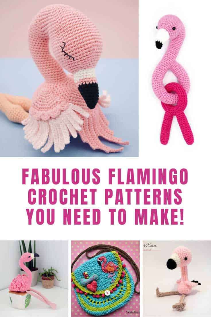 Loving these flamingo crochet projects!