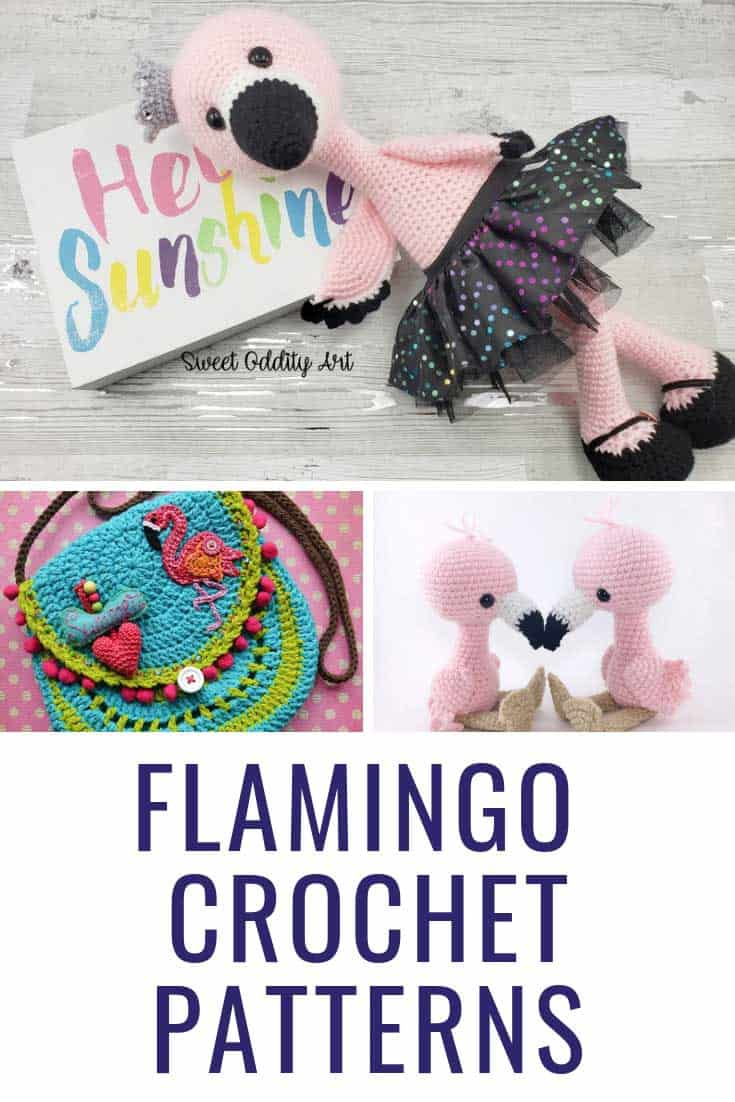 Wow these flamingo crochet ideas are fabulous!