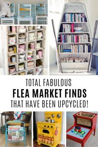 Wow these flea market ideas are totally creative!