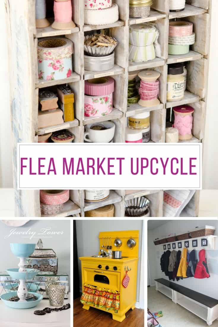 Loving these flea market makeovers - thanks for sharing!