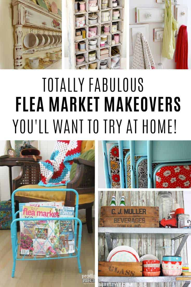 Loving these flea market makeovers!
