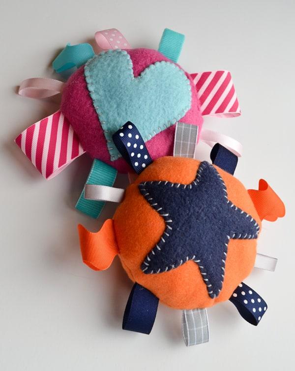 Fleece Baby Toys