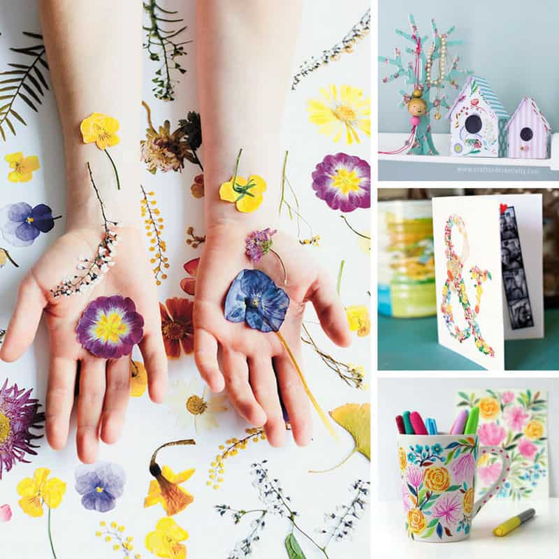 These floral DIY projects are amazing! Thanks for sharing!