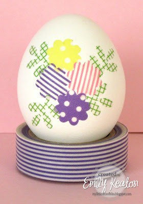 Floral Easter Egg Design