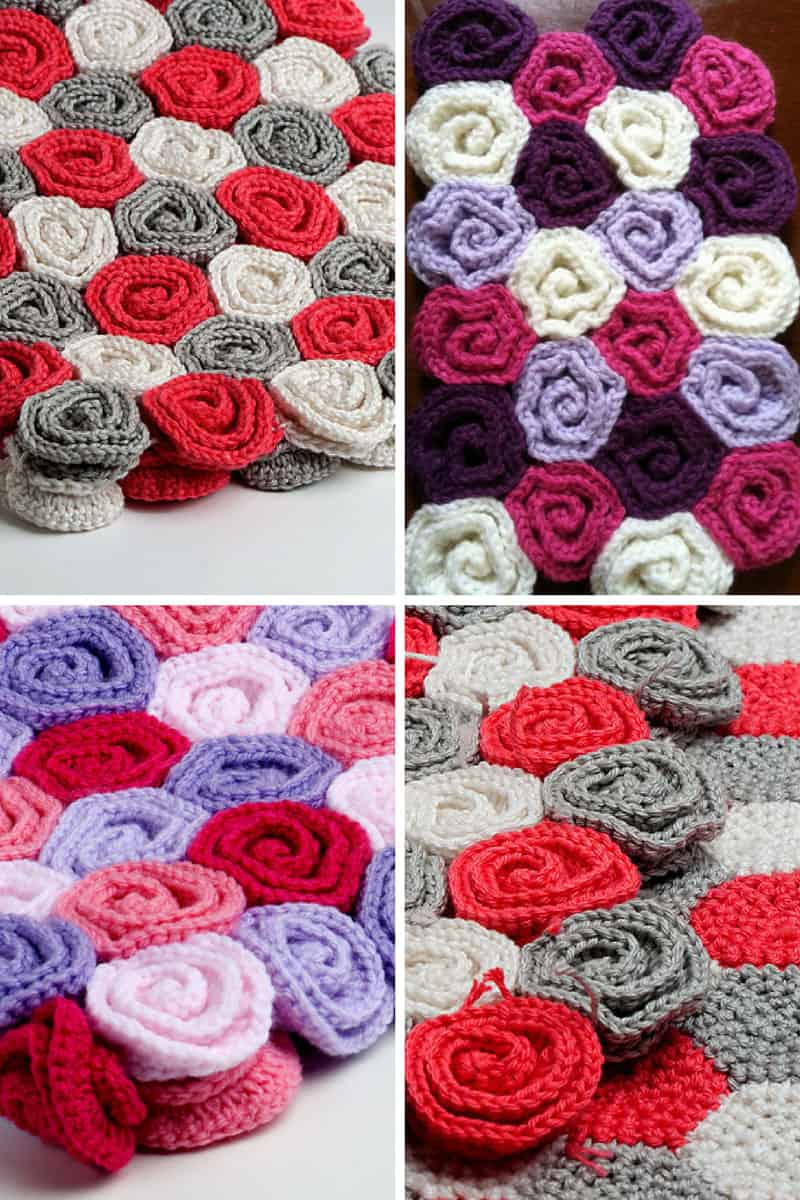 How to Make Crochet Flowers - Put a Little Love on Your Hook!