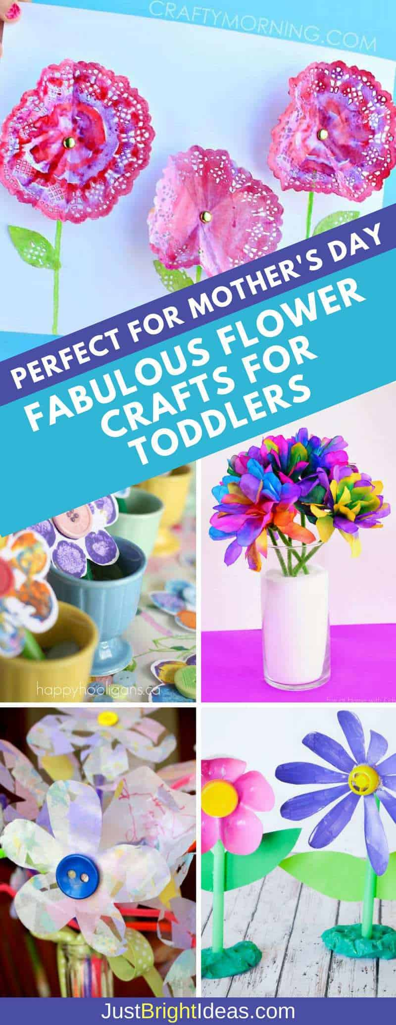 Flower Crafts for Toddlers Pinterest