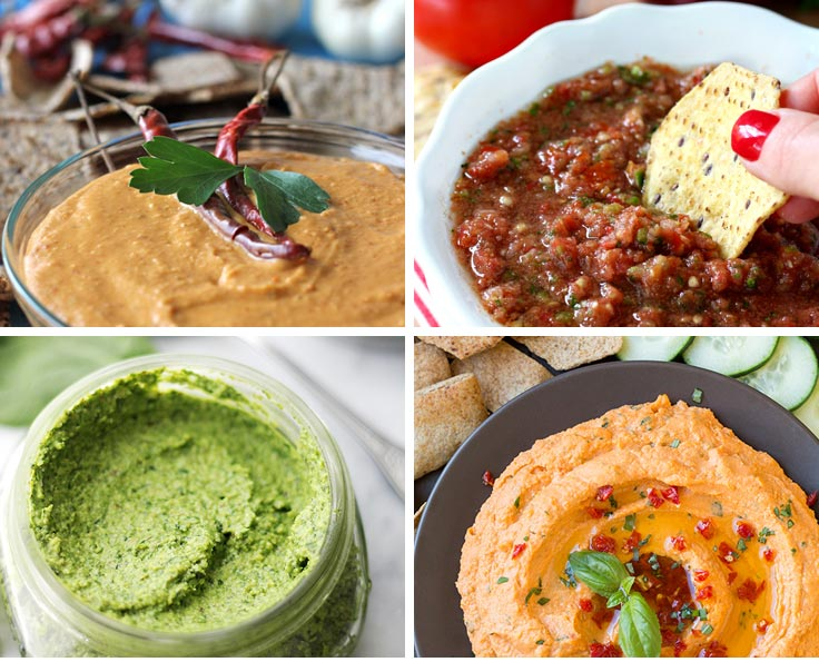 Delicious appetizers you can make in your food processor