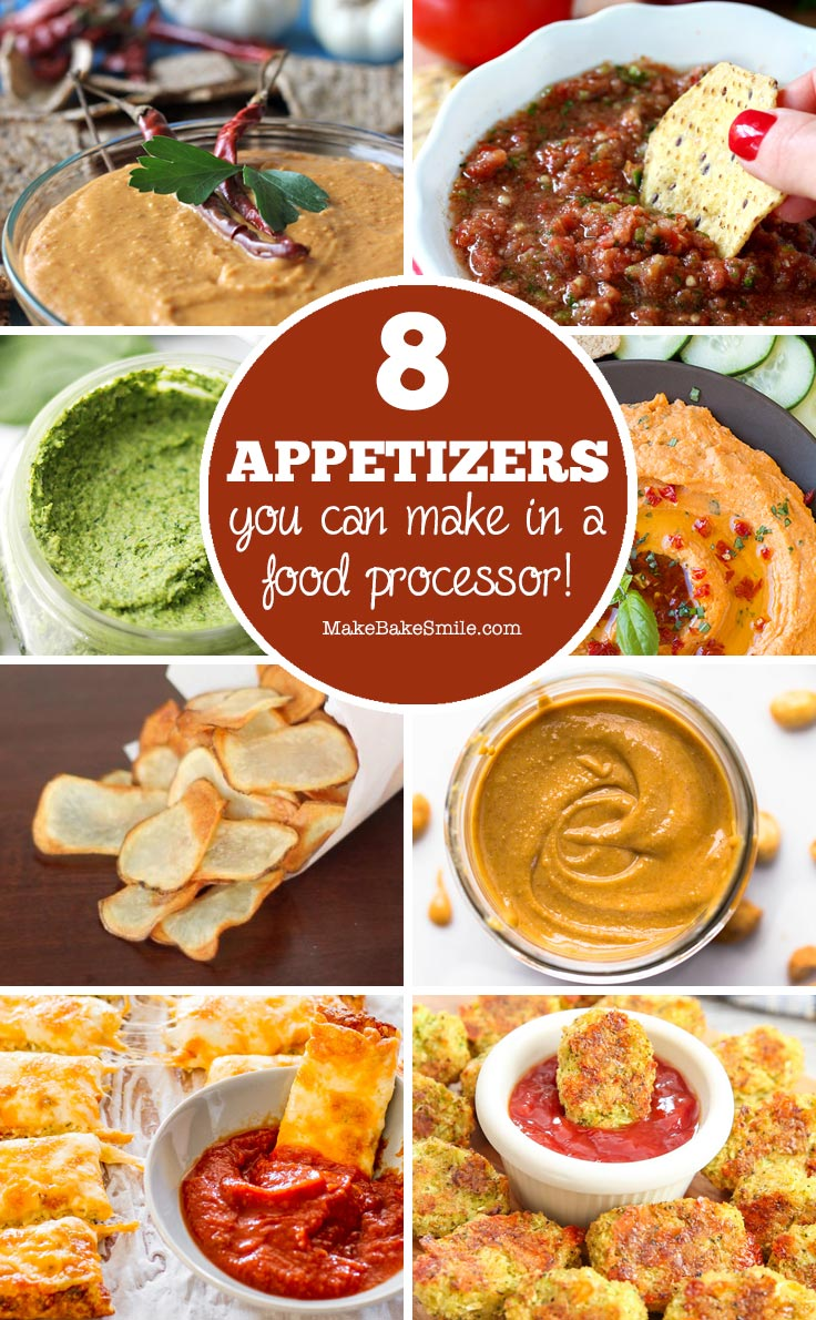 These dips and peanut butters look delicious and my food processor does all the hard work