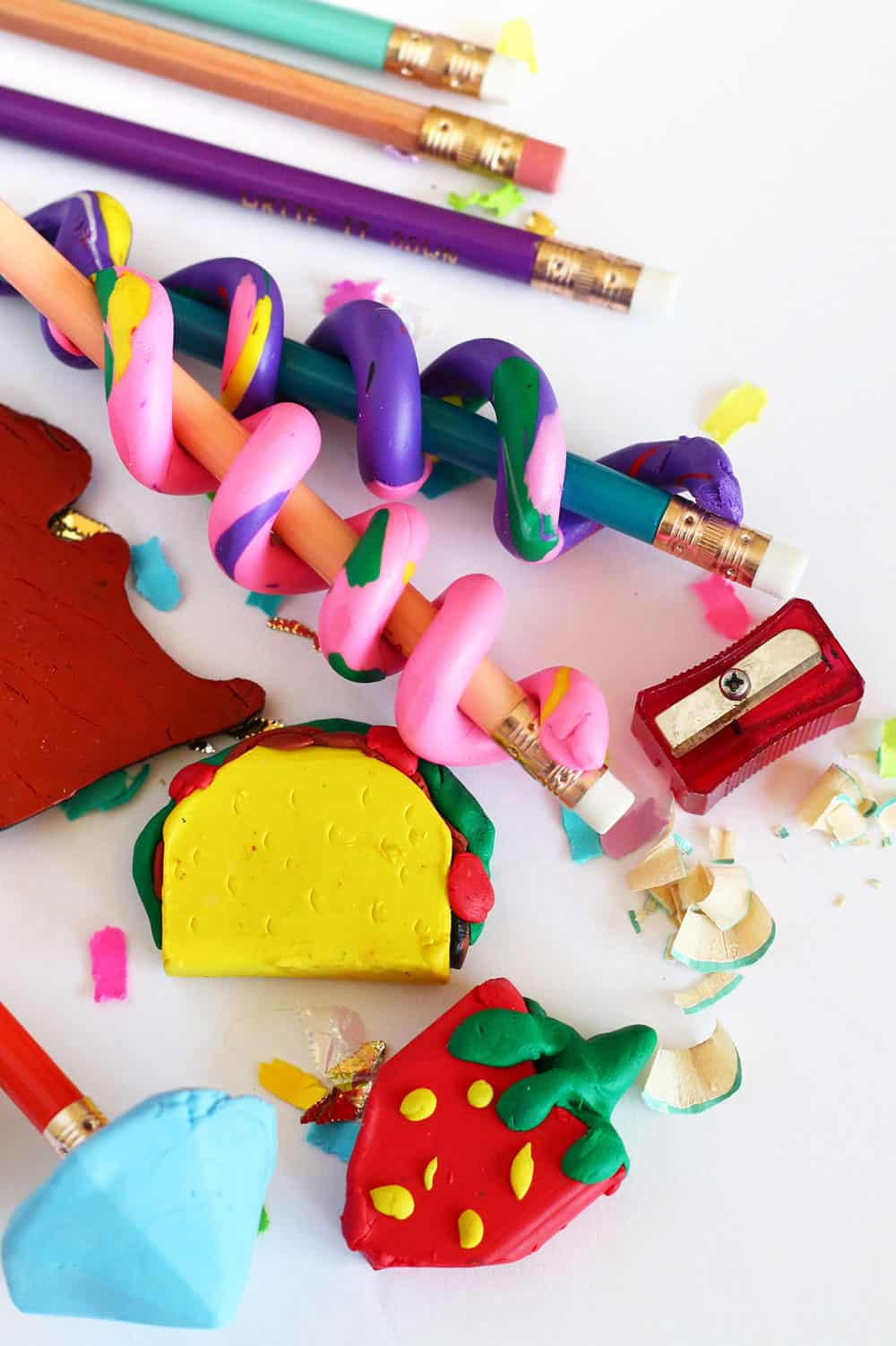 Four Ways to Make DIY Erasers