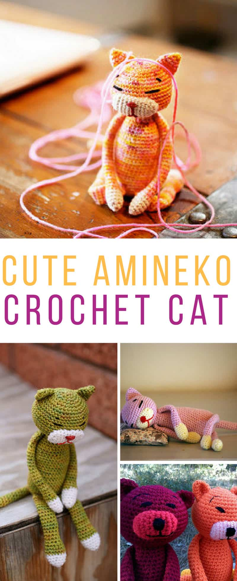 Can't wait to crochet one of these Amineko cats! Thanks for sharing the free pattern!