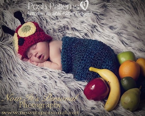 Free Hungry Caterpillar Baby Crochet Cocoon