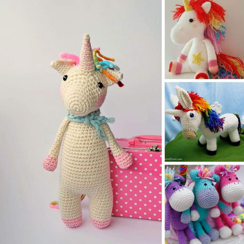 Loving these crochet unicorns!