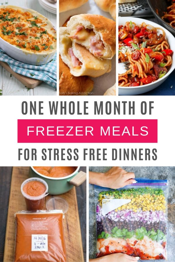 Loving these freezer meals for a month - healthy and delicious!