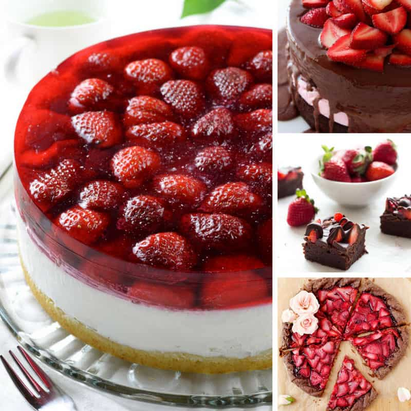 30 Ridiculously Good Fresh Strawberry Desserts to Drool Over