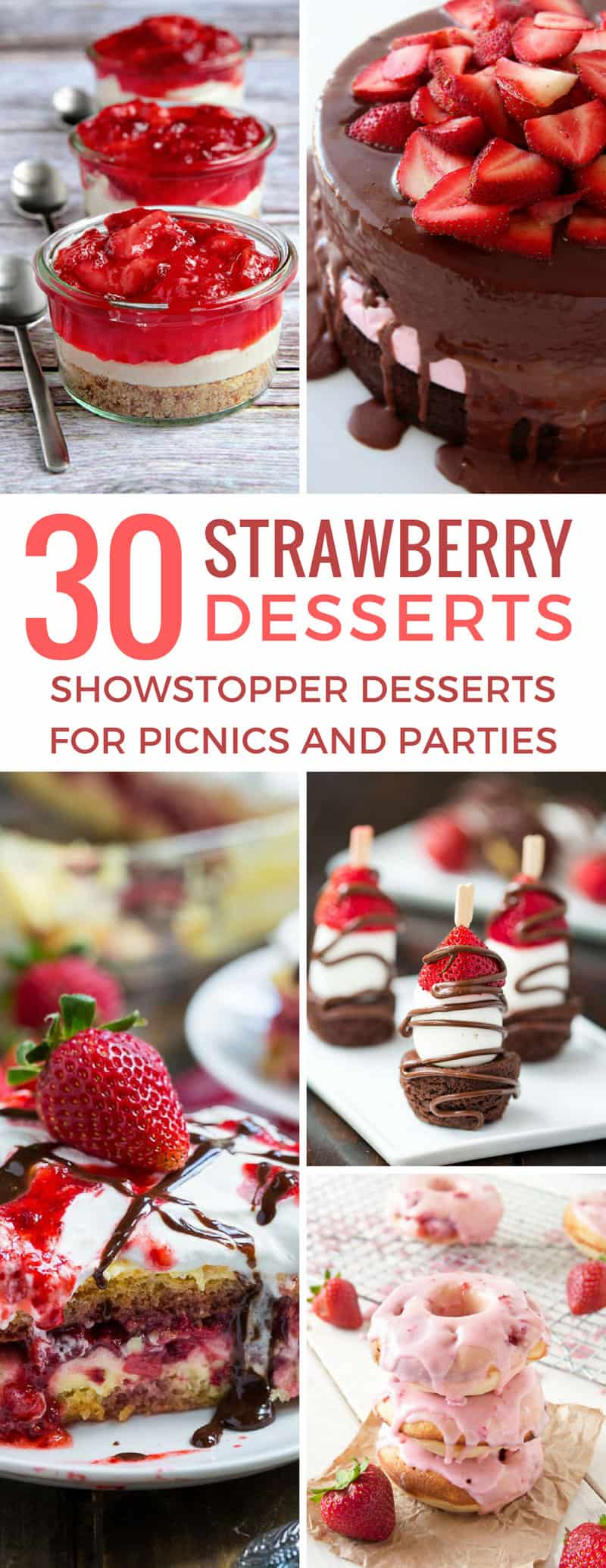 Oh my these fresh strawberry desserts taste amazing! Thanks for sharing!