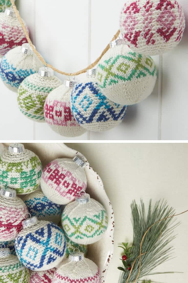 Frosted Crochet Ornaments Pattern