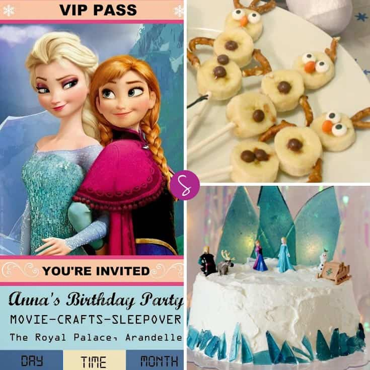 Perfect for a Frozen birthday party or a playdate!